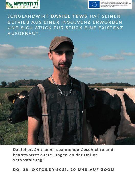 Online Vortragsreihe mit engagierten JunglandwirtInnen